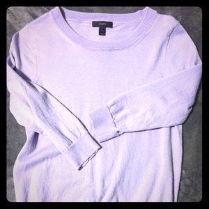 J.Crew Lavender Tippi Sweater